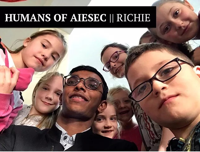 Humans of AIESEC | Richie | Global Volunteer